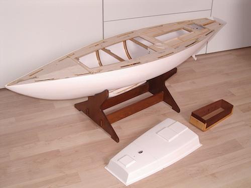 hinteres segel rundholz